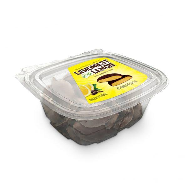 Lemoniest Sour Lemon Dark Chocolate Bites Tub