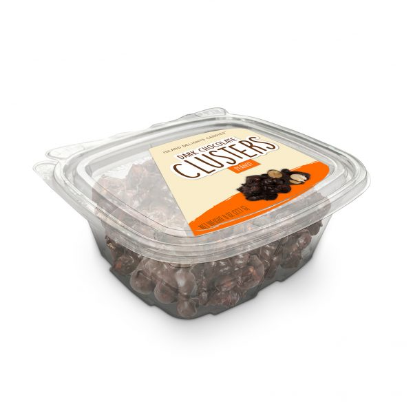 Peanut Dark Chocolate Clusters Tub