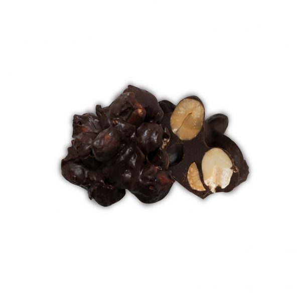 Peanut Dark Chocolate Clusters