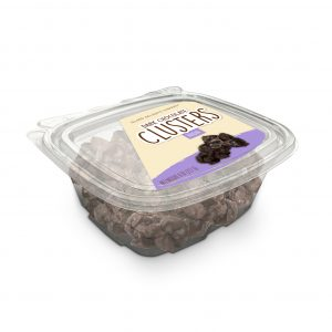 Raisin Dark Chocolate Cluster Tub